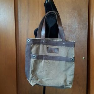 ABERCROMBIE & FITCH  Canvas Tote Bag
